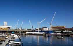 Bau nahe dem Meer Lizenzfreies Stockfoto