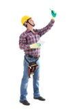 Bau-Reihe Lizenzfreies Stockbild