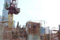 Bau Site2 lizenzfreie stockfotos