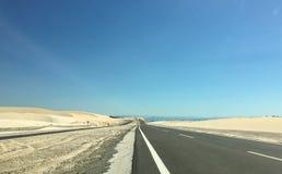 Bau Trang highway in southern Vietnam Royalty Free Stock Image