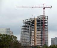 Bau-Turmkran Stockbild