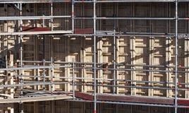 Bau und Unterstützung Lizenzfreie Stockbilder