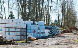 Bau-Versorgungs-Lager Stockbild