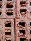 Bau-Ziegelsteine stockfotos