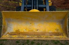 Bau Zilker-Park Front Loader groß Lizenzfreie Stockfotografie