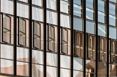 Bauahaus Dessau, Fenster Stockfotos