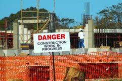 Bauarbeit Lizenzfreie Stockfotos