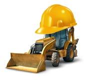 Bauarbeit-Sicherheit Stockfotos
