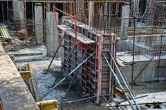 Bauarbeiten Stockfotos