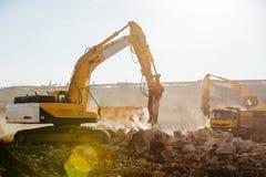 Bauarbeiten Stockfotografie