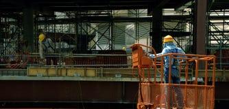 Bauarbeiter Stockfoto