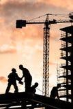 Bauarbeiter lizenzfreies stockbild