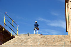 Bauarbeiter Stockbild