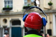 Bauarbeiter. Stockbild