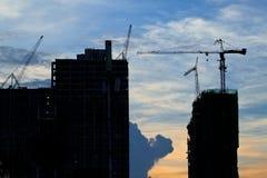Bauarbeitsite lizenzfreie stockfotos
