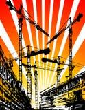 Bauarbeitsite Lizenzfreies Stockfoto