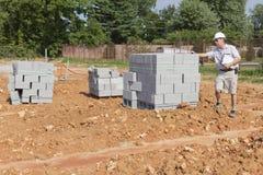 Bauaufsichtsbeamter Lizenzfreies Stockfoto