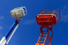 Bauaufzugplattform Lizenzfreie Stockfotografie