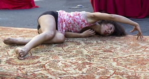 baubant分类舞蹈演员mence 图库摄影
