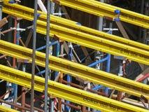 Baubaugerüst Stockbilder