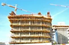 Baubaugerüst Lizenzfreies Stockbild