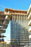 Baubaugerüst Lizenzfreie Stockfotos