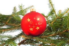 bauble bożych narodzeń dekoracja Zdjęcie Royalty Free