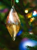 bauble bożych narodzeń diament kształtował Zdjęcia Stock