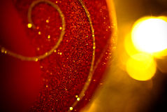 bauble christmas Στοκ Φωτογραφίες