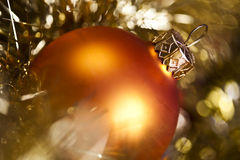 Bauble & Christmas day Royalty Free Stock Photo