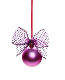 Bauble on Christmas tree Royalty Free Stock Photography