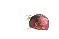 bauble cristmas Zdjęcie Stock