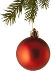 Bauble da decoração da árvore de Natal Imagem de Stock Royalty Free