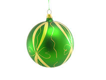 Bauble decorativo do Natal Fotos de Stock