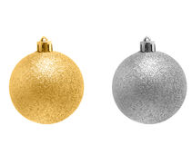 Bauble decorativo do Natal Foto de Stock Royalty Free