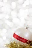 Bauble do Feliz Natal Imagens de Stock