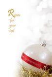 Bauble do Feliz Natal Imagens de Stock Royalty Free