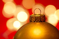 Bauble do Natal Imagens de Stock Royalty Free