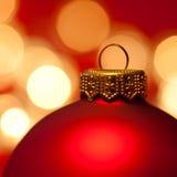 Bauble do Natal Foto de Stock