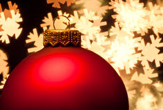 Bauble do Natal Imagem de Stock