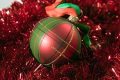 Bauble do Natal Imagens de Stock