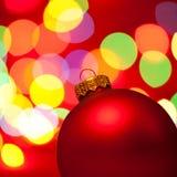 Bauble do Natal Fotografia de Stock