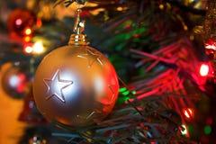 Bauble do Natal Fotos de Stock Royalty Free