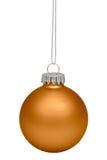 Bauble do Natal isolado no branco Foto de Stock