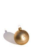 bauble złoto Zdjęcie Stock