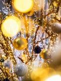 baublejulen för bakgrund 3d satte ihop fotografiskt verkligt framför Royaltyfri Foto
