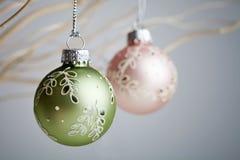 Baubles рождества Стоковая Фотография