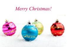 Baubles рождества стоковое фото rf