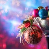 Baubles рождества стоковая фотография rf