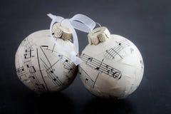 Baubles рождества стоковые фотографии rf